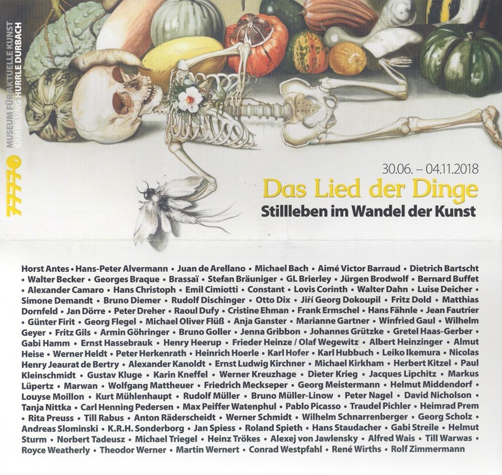 Group Exhibition: Das Lied der Dinge - Das-Lied-der-Dinge