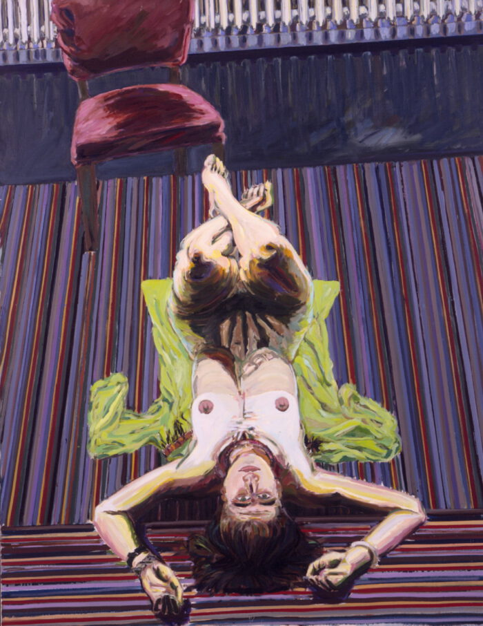 1970 01 01 Polyp Öl auf Leinwand 160x125 cm
