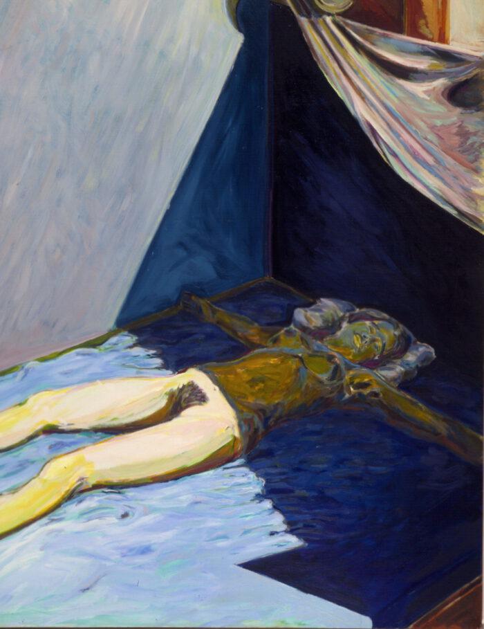 1970 04 02 Tabernakel II Öl auf Leinwand 160x125 cm