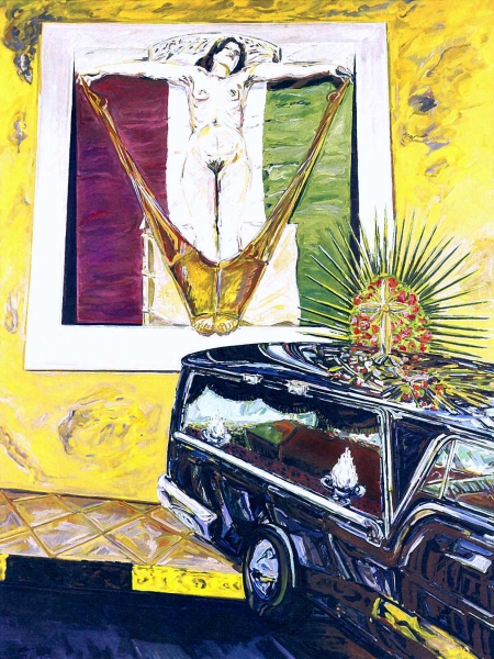1971 01 02 Elbabild Öl auf Leinwand 200x150 1