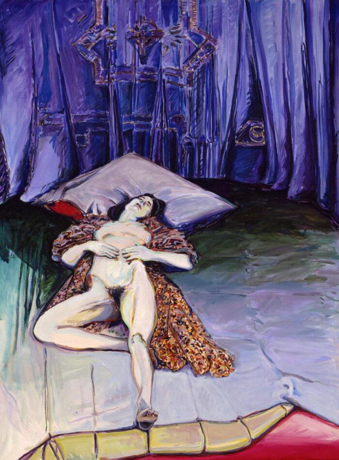 1971 02 10 Sakral Raum Öl auf Leinwand 200x150 cm