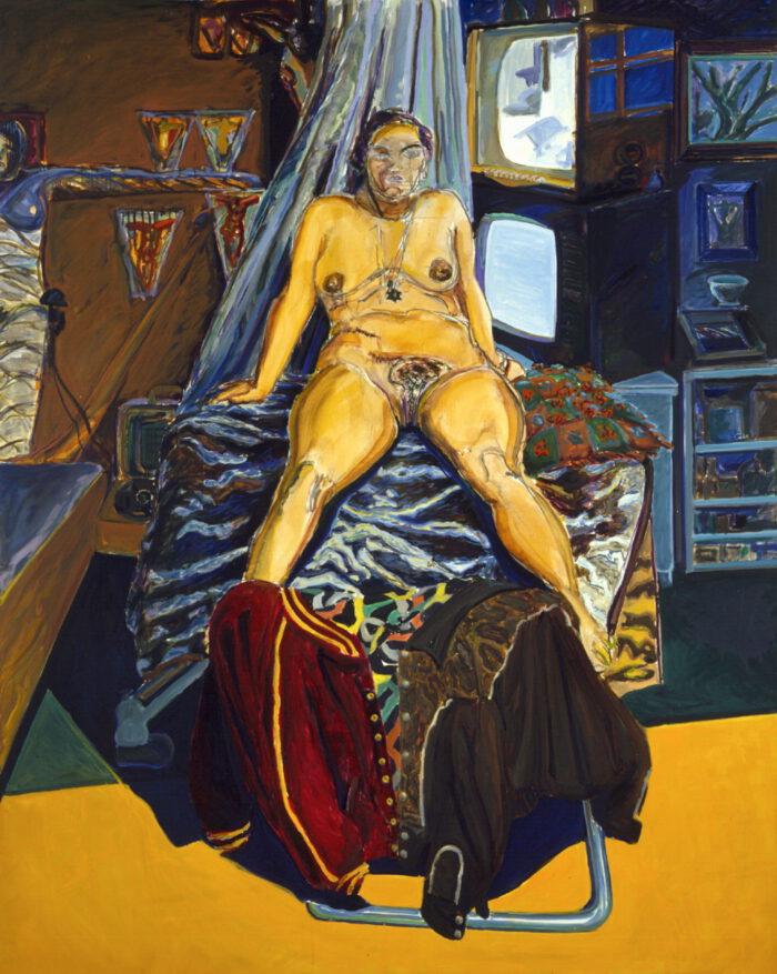 1974 05 07 Monika Kohle Öl auf Leinwand 200x160 cm