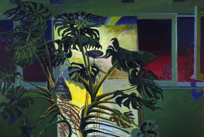 1974 07 02 Philodendron Öl auf Leinwand 140x200 1