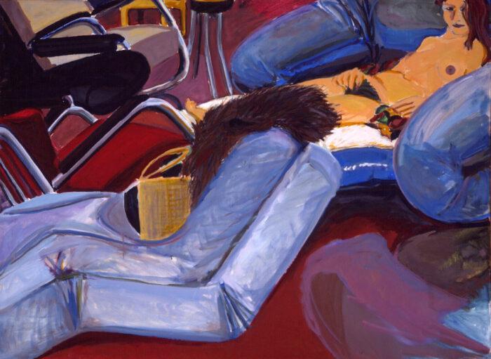 1976 07 01 o.T. Öl auf Leinwand 100x135 cm
