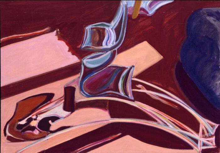 1977 03 13 Kleiner Plexi Öl auf Leinwand 60x85 cm