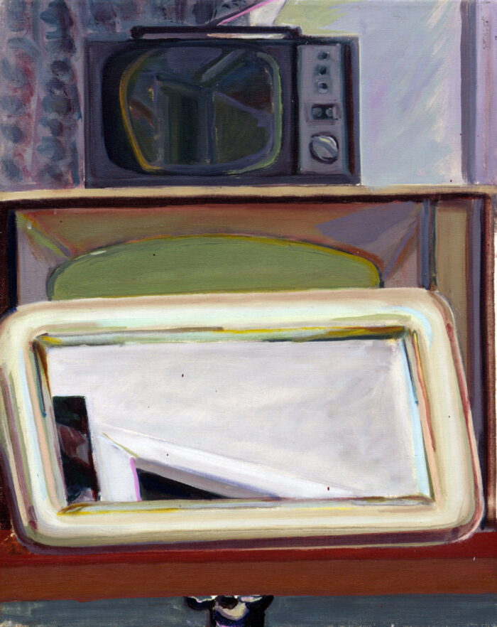 1977 16 01 o.T. Öl auf Leinwand 40x50 cm