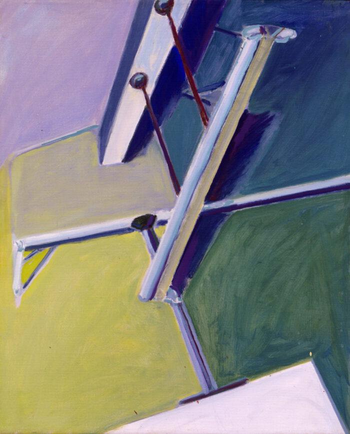 1977 17 01 Neon Öl auf Leinwand 56x46 cm