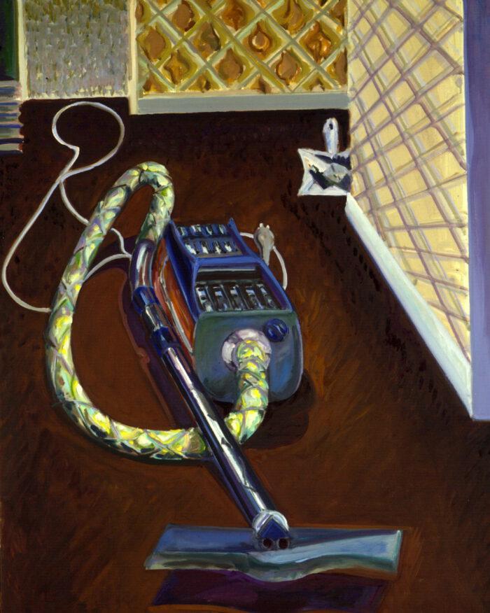 1977 19 01 Staubsauger Öl auf Leinwand 100x80 cm