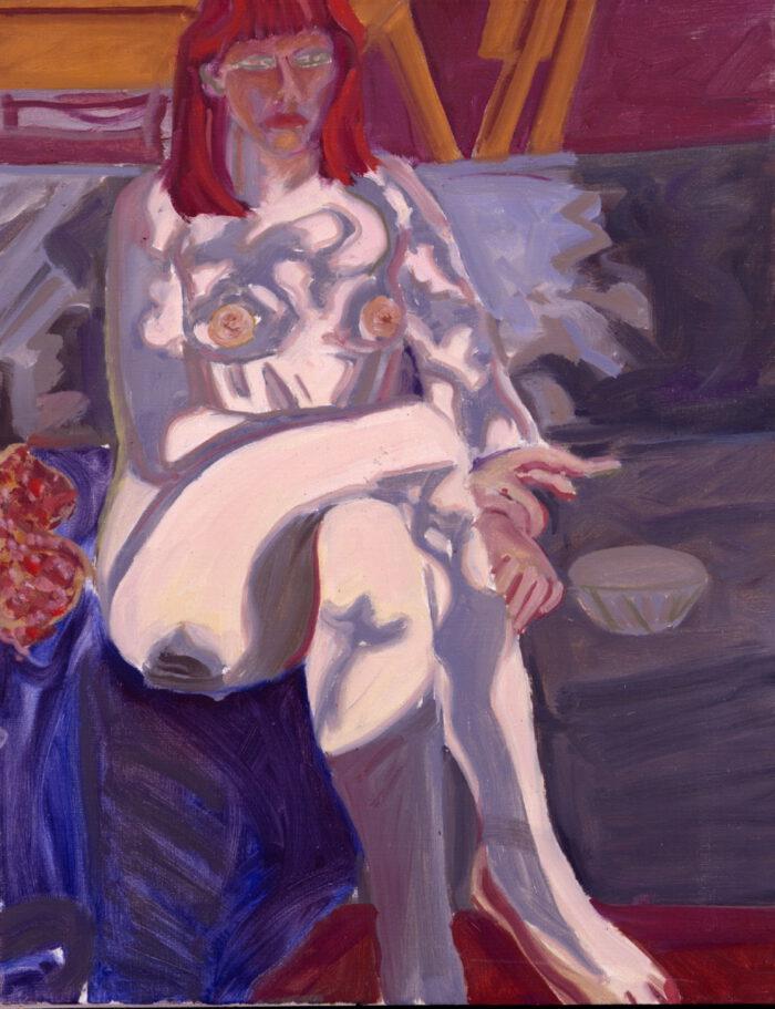 1978 01 07 Janice Öl auf Leinwand 70x55 cm