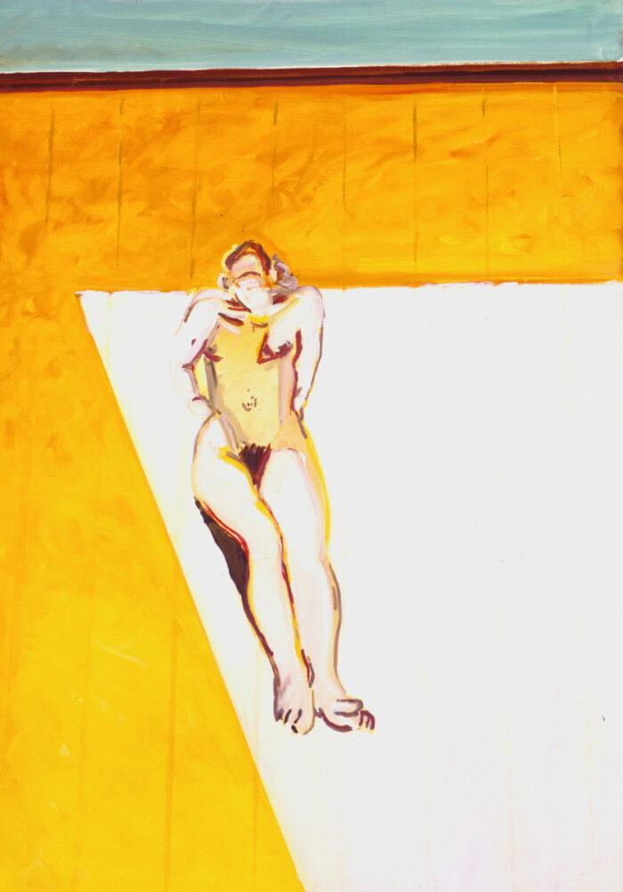 1978 02 02 Berliner Göre Öl auf Leinwand 105x75 cm