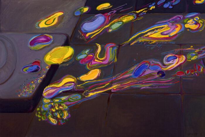 1978 18 01 Zischiwisten Öl auf Leinwand 135x200 cm