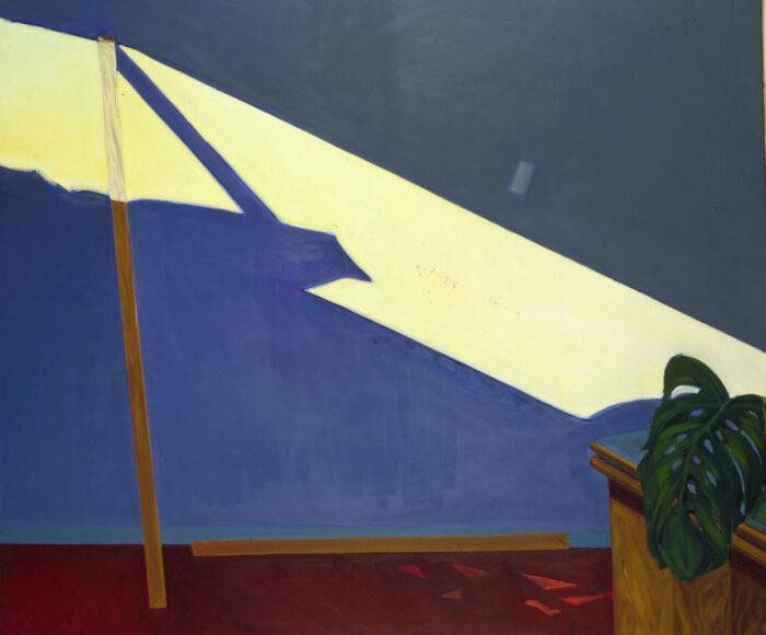 1978 19 01 79 Strahl II Öl auf Leinwand 170x200 cm