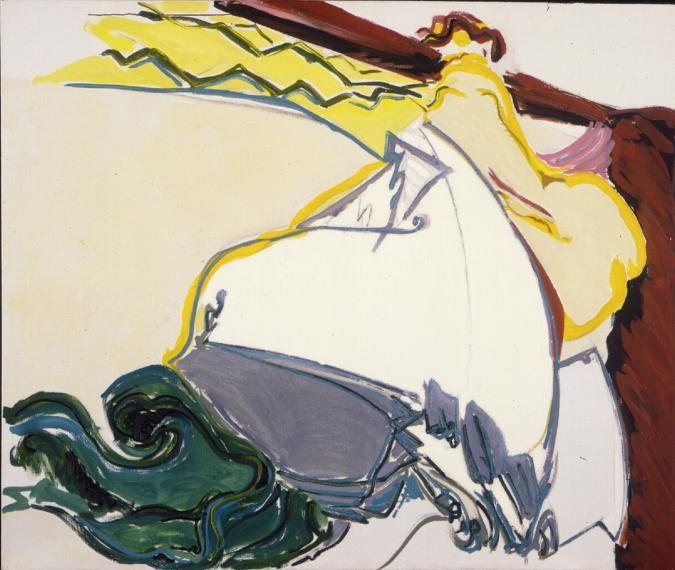 1979 17 01 Martha japanisch Öl auf Leinwand 132x165 cm