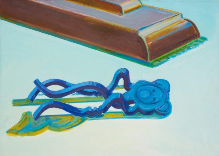 1979 19 01 Bärchen Öl auf Leinwand 85x118 cm