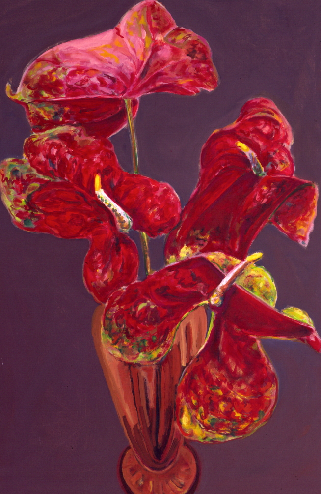 1990 01 14 Kölner Öl auf Leinwand 150x100 cm