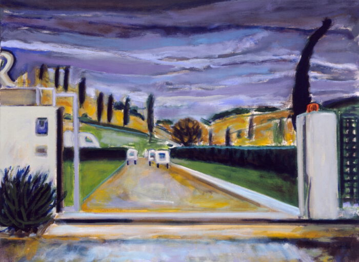 1990 03 01 o.T. Acryl auf Leinwand 90x120 cm