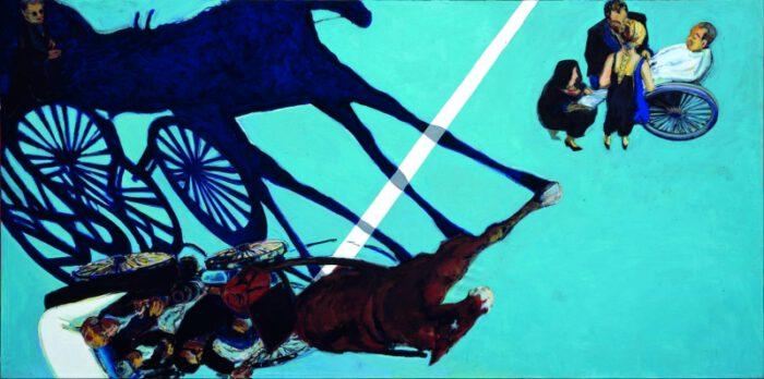1990 05 00 Santa Lucia Öl auf Leinwand 200x400 1