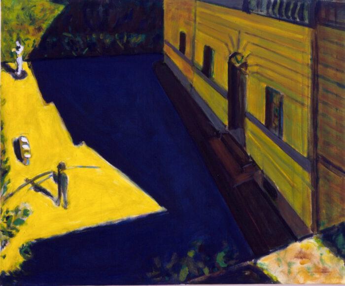 1990 05 10 Testa Villa Romana Öl auf Leinwand 100x120 cm