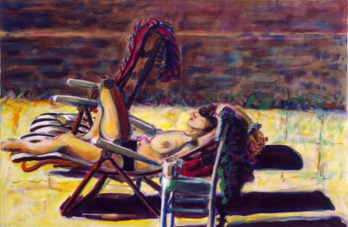 1990 08 04 Testaferrata Acryl auf Baumwolle 80x100 cm