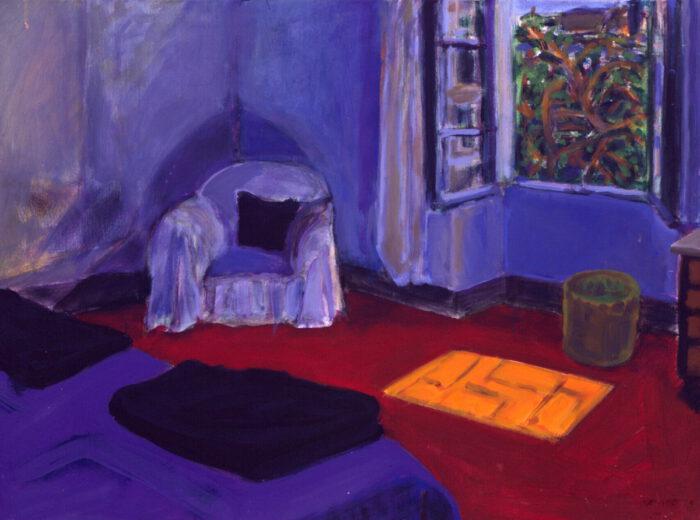 1991 03 01 August 25 30 Acryl auf Nessel 60x80 cm