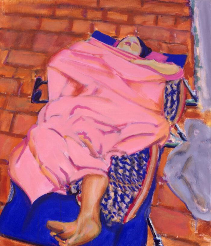 1991 04 02 Casa I Acryl auf Leinwand 70x60 cm