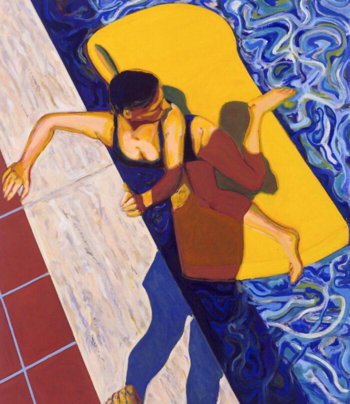 1991 05 04 o.T. Öl auf Leinwand 150x130 cm