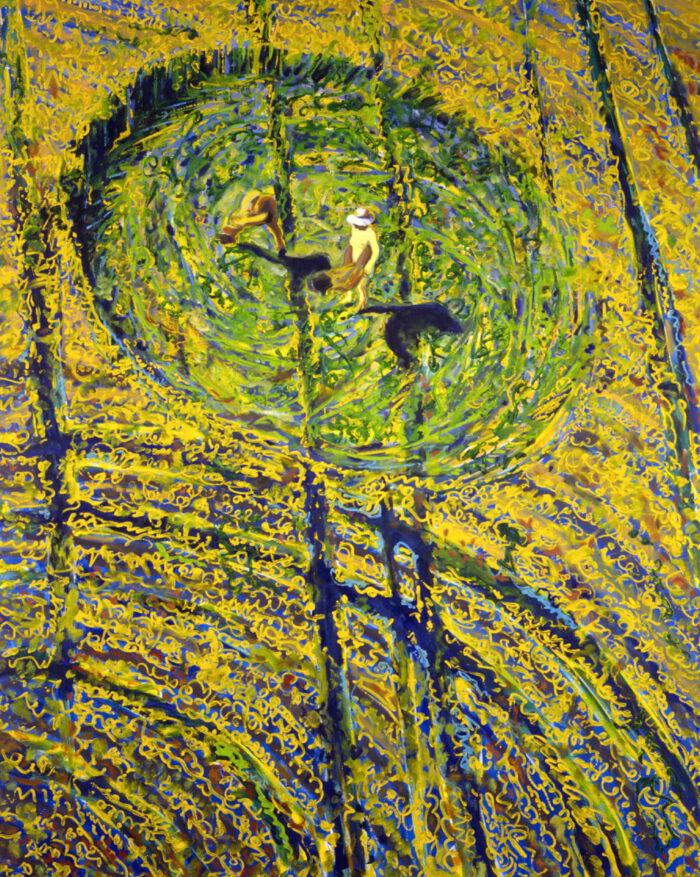 1991 19 01 o.T. Öl auf Leinwand 250x200 cm