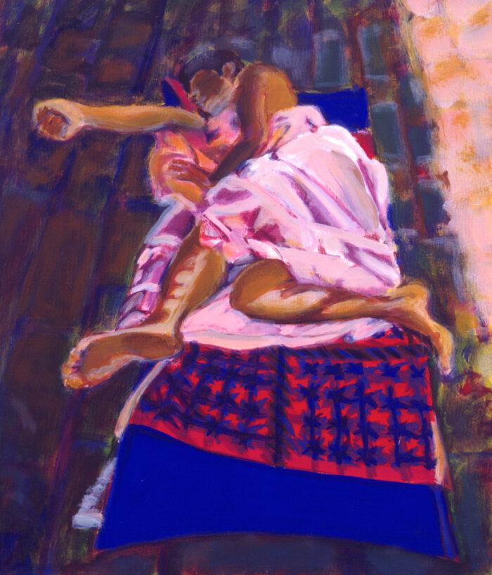 1992 05 03 Casa III Acryl auf Nessel 70x60 cm