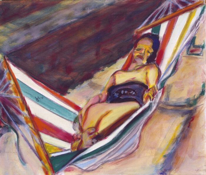 1992 05 04 Testa August Acryl auf Leinwand 60x70 cm
