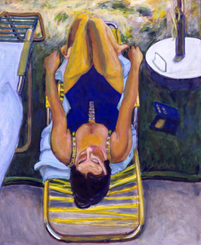 1992 05 06 Ulla Acryl auf Leinwand 120x100 cm