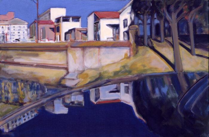 1992 07 02 Testa Kühler Acryl auf Leinwand 80x120 cm
