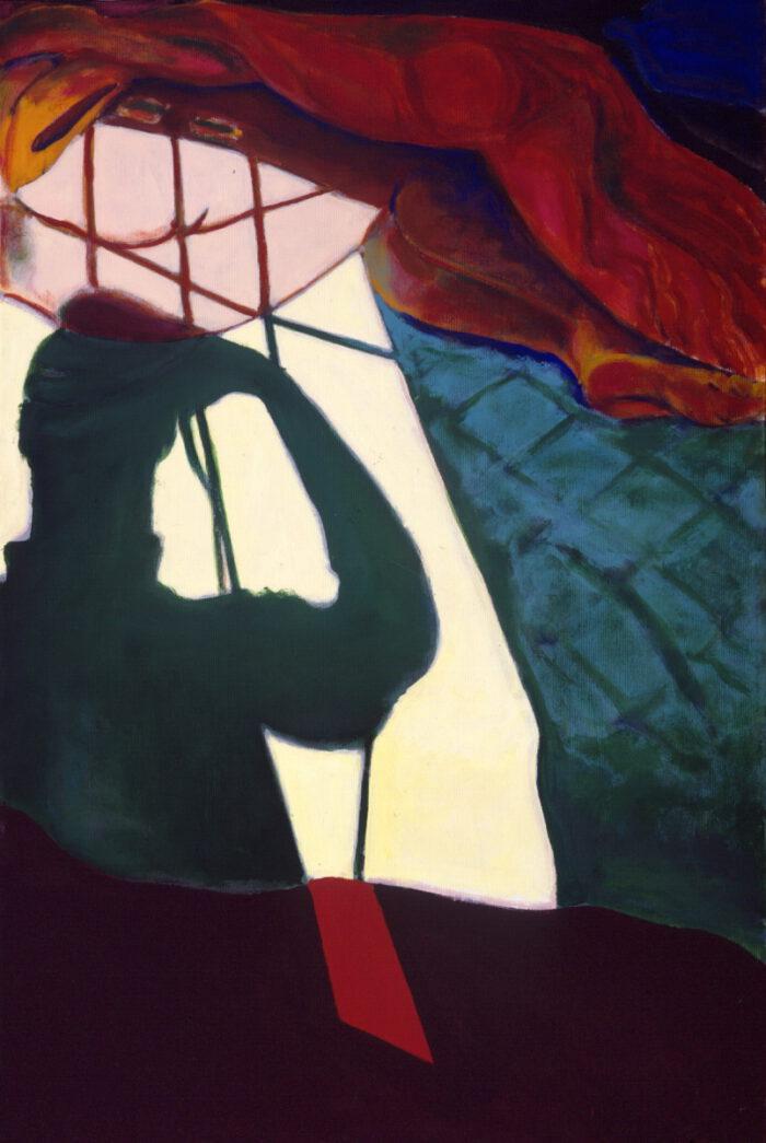 1993 03 03 Schatten Acryl auf Leinwand 120x80 cm