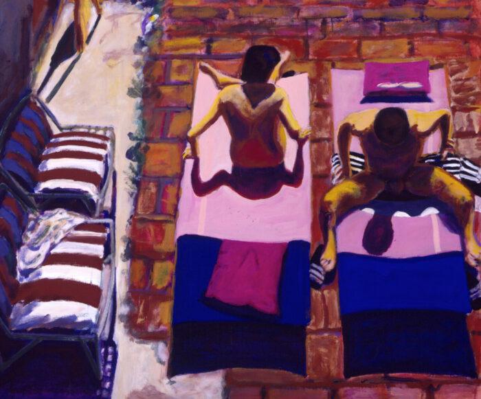 1993 03 04 Testa Acryl auf Leinwand 100x120 cm