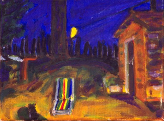 1993 04 03 Testa Acryl auf Leinwand 18x24 cm