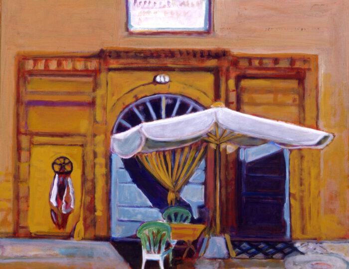 1993 04 08 Testa Acryl auf Nessel 80x100 cm