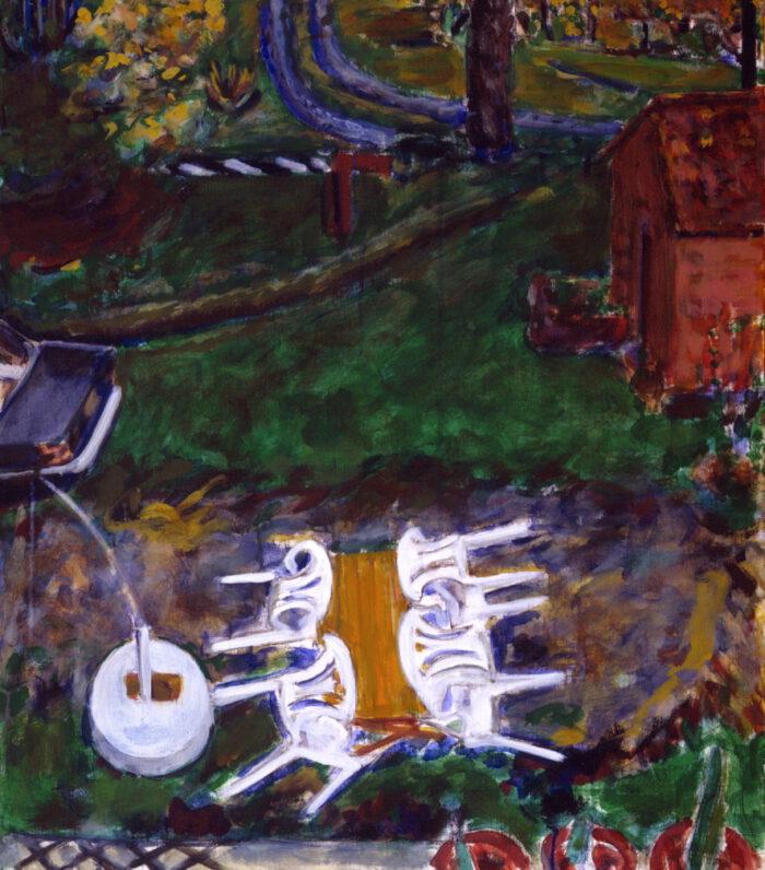 1993 04 09 Testa Acryl auf Leinwand 80x70 cm