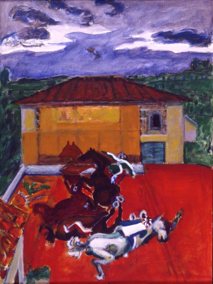 1993 04 14 Testa Acryl auf Leinwand 80x60 cm