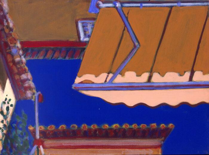 1993 04 15 Testa Acryl auf Leinwand 30x40 cm