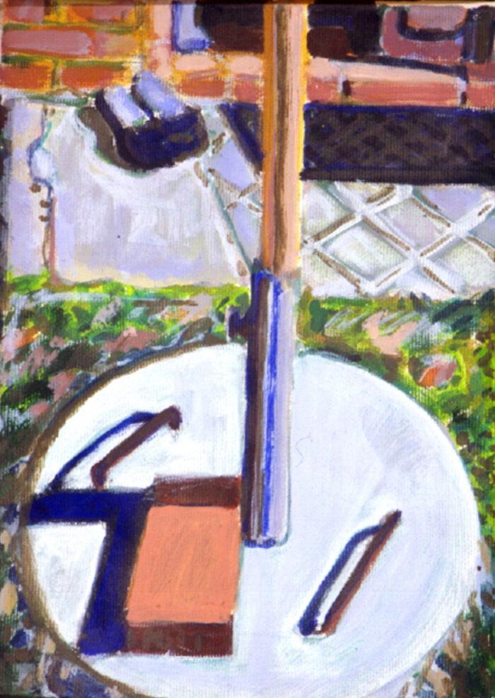 1993 05 16 o.T. Acryl auf Leinwand 24x18 cm