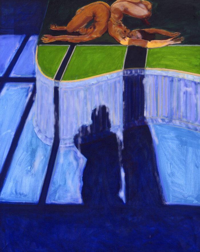 1993 07 01 Fango Öl auf Leinwand 150x120 cm