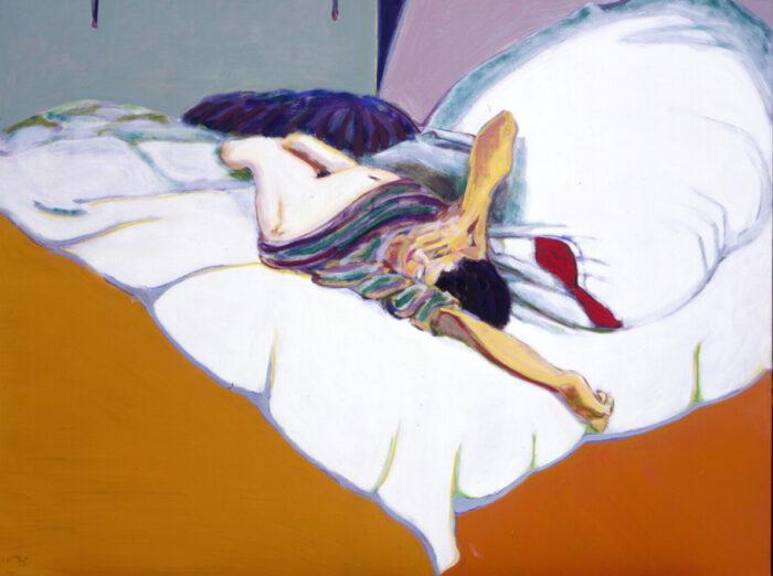 1993 10 01 Erinnerung XXVIII I Öl auf Leinwand 140x170 cm