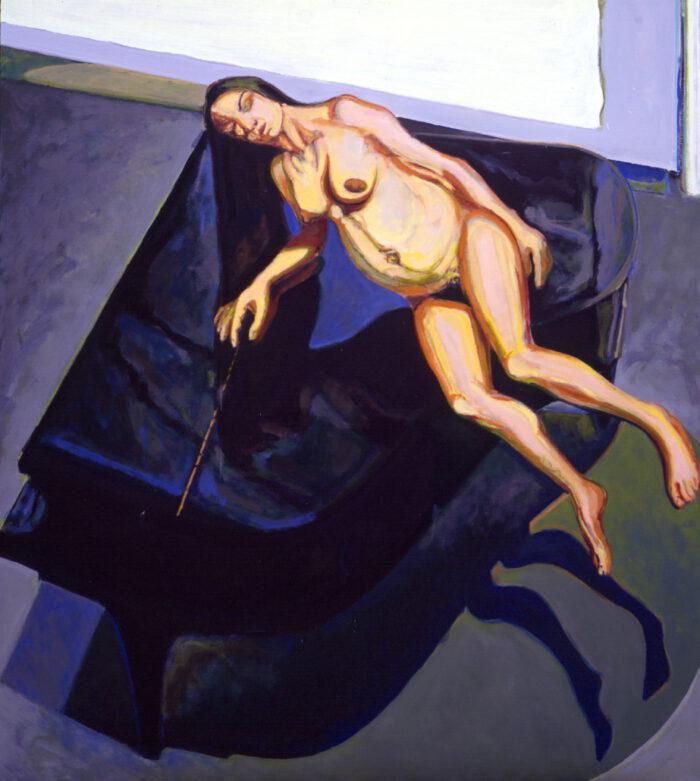 1994 01 04 Olymptychon Öl auf Leinwand 200x180 cm
