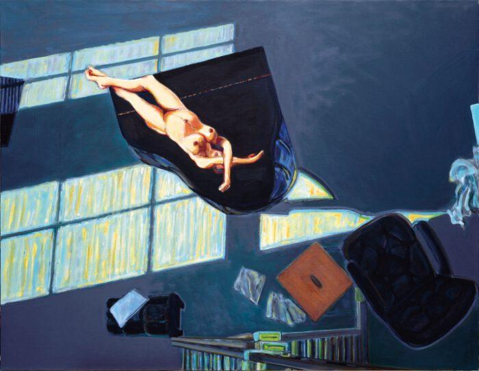 1994 01 07 Arrangement mit Olympia Öl auf Leinwand 160x206 1