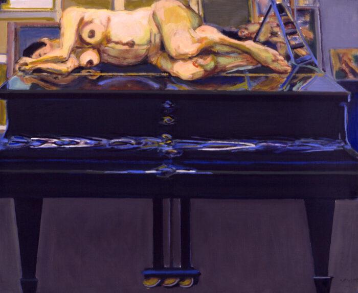1994 01 11 XXIII. Öl auf Leinwand 96x117 cm