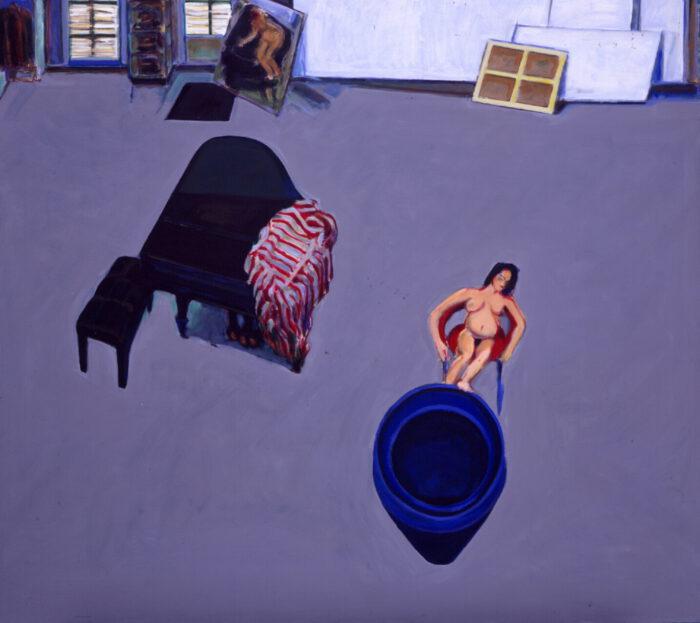 1994 01 16 XXII. Öl auf Leinwand 162x180 cm