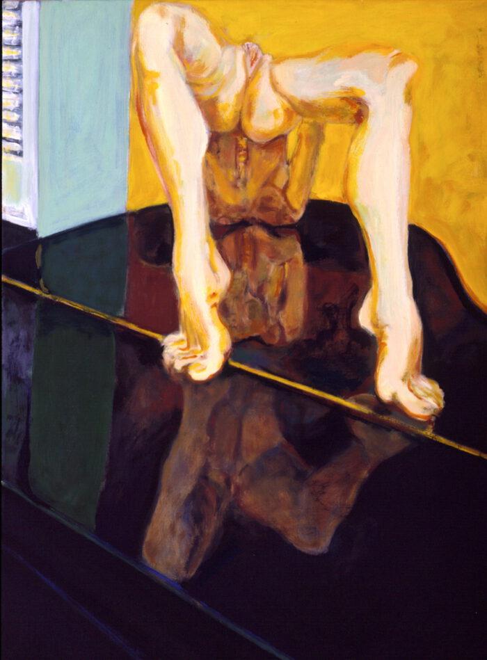 1994 01 19 o.T. Öl auf Leinwand 92x72 cm