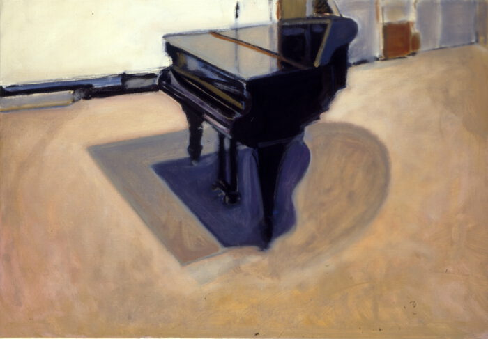 1994 01 20 Flügel einsam Öl auf Leinwand 70x100 cm