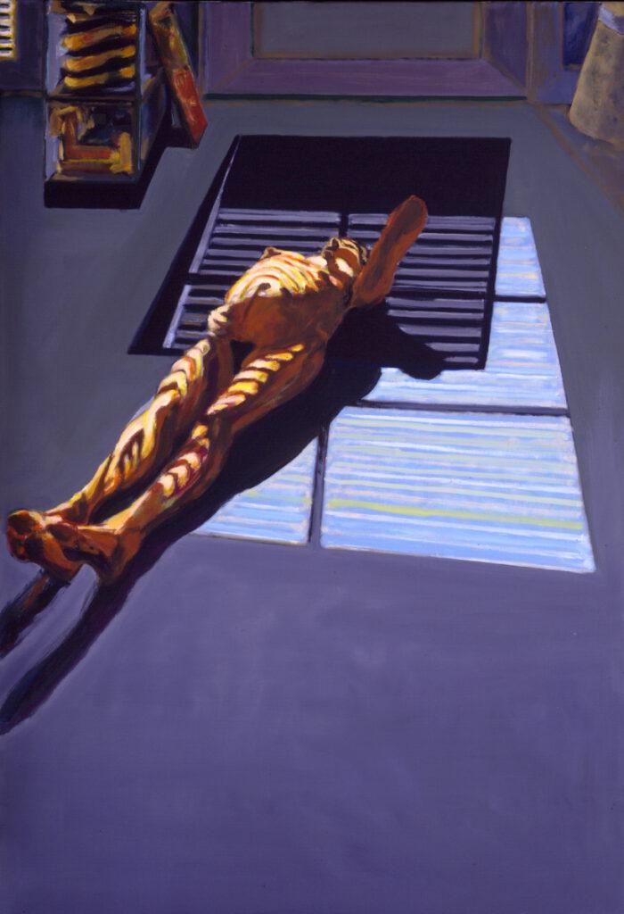 1994 02 05 XX. Öl auf Leinwand 172x120 cm