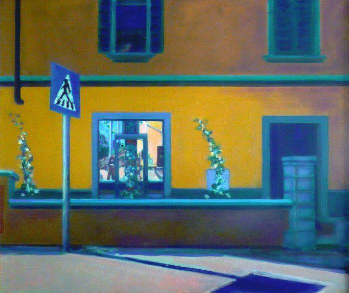 1994 05 01 Tavernelle val di Pesa Öl auf Leinwand 100x120 1