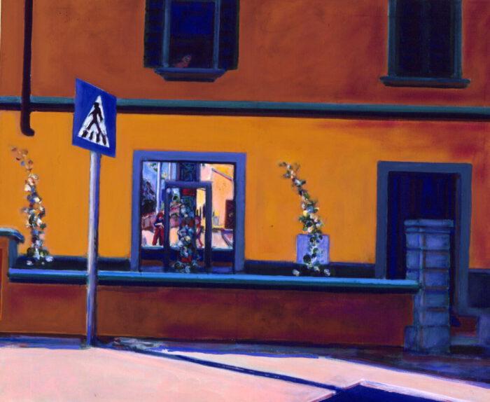 1994 05 01 Tavernelle Val di Pesa Acryl auf Leinwand 100x120 cm